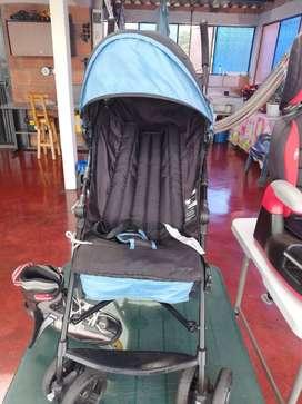 coche y silla para niños
