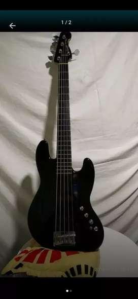 Vendo o cambio bajo Fender 5 cuerdas