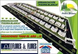 PRE - VENTA DE LOTES 120 m2