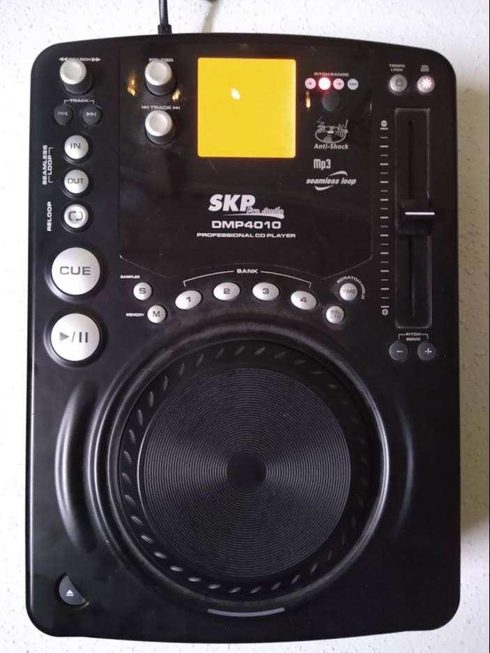 Consola Dj Skp Pro Audio Dmp4010 Flamante 0