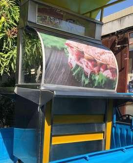 Venta de carrito sanduchero