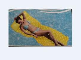 Colchoneta Inflable Para Piscina Americana Marca Water Swim
