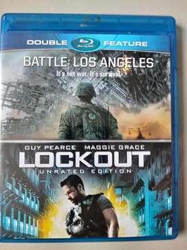 Battle: Los Angeles / Lockout Bluray