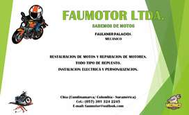 Reparacion de motos FAUMOTOR.LTDA