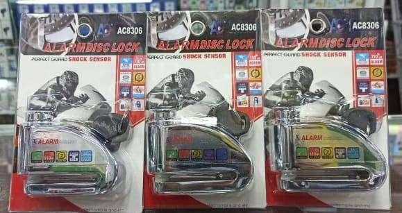 Candado-alarma Freno Disco Seguridad Para Moto