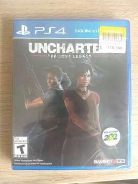 Uncharted Lost legacy nuevo