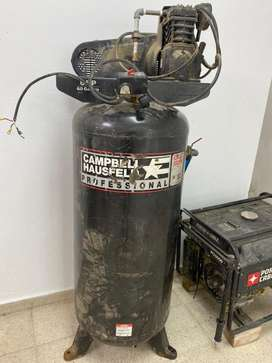 Vendo compresor Cambell 6hp / 60 galones