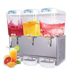 Máquina expendedora de jugos