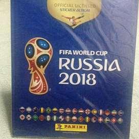 ALBUM PANINI TAPA DURA MUNDIAL RUSIA 2018 ORIGINAL