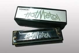 Armonica Hohner Hotmetal Diatonica Estuche Hot Metal