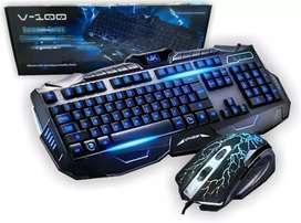 Combo Teclado + Mouse Gamer