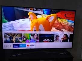 Smart tv 75 Samsung nuevos outlet con linea