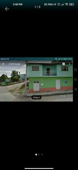 Vendo o permuto casa  con local oiba Santander