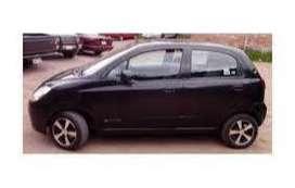 chevrolet spark negro 2009. auto de familia. placa pichincha.