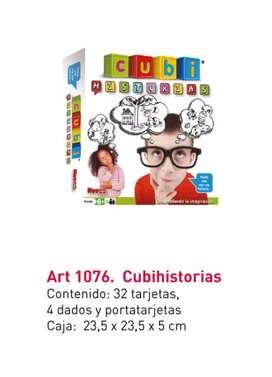 Juego didáctico  - Cubi Historias