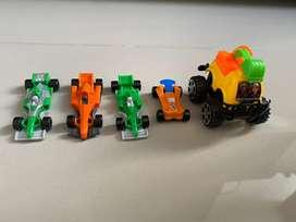 Carritos de juguete usados