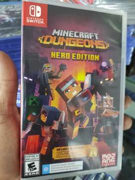 MINECRAFT DUNGEONS HERO EDITION NINTENDO SWITCH