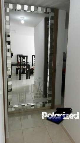 Plata Decora Espejos de Galería a Gusto