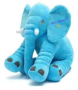 Almohada Elefante Antirreflujo Para Bebes Acolchada Antirreflujo