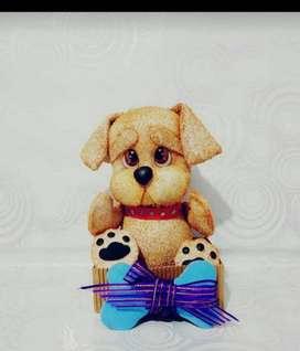 osos cachorros perrito foami fomix goma eva 3d peluches