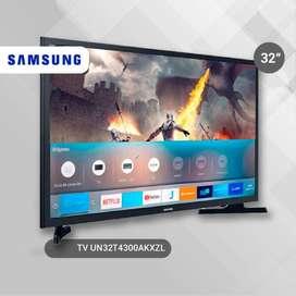 TV SAMSUNG 32¨ LED HD SMART TV NEGRO NUEVOS