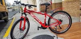 Bicicleta montañera deportiva aro #26