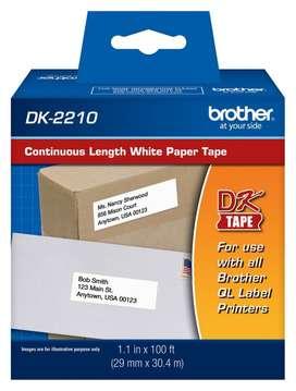Cinta Brother Original DK-2210 29 mm x 304 mt