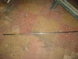 Moldura, baqueta cromada de baúl honda accord 79/82.