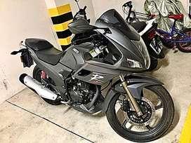 Hero Honda motor 235 con 3500km de recorrido como nueva
