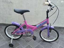 Bici  tipo BMX rodado 16