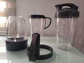 Combo vasos NutriBullet con accesorios