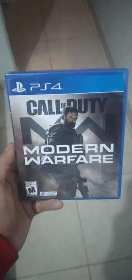 Vendo modern warfare para ps4 nueva sellada