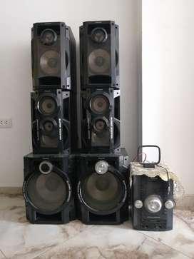Equipo de Sonido Panasonic 6 Parlantes