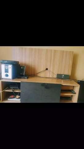 Rack tv con poco uso
