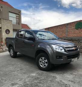 CAMIONETA DMAX DOBLE CABINA DIESEL 2015 4X4