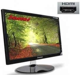Monitor Led 19.5 pulgadas Full HD 1080p HDMI VGA Janus