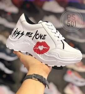 Zapato Tennis Deportivo Tractor Para Dama