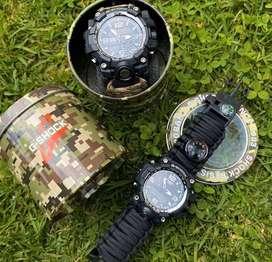 Reloj casio tipo militar
