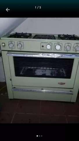 Cocina de 5 hornillas