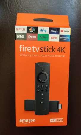 Fire TV Stick 4K con Alexa Voice Remote, reproductor multimedia