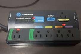 Regleta Hp Monster Cable 650g Digital Powercenter Protector