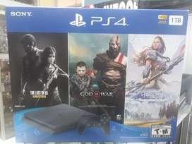 PS4 SLIM NUEVO SELLADO