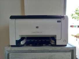 OPORTUNIDAD VENDO IMPRESORA HP LaserJet Pro CP1025nw en Color