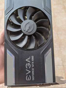 Placa De Video Evga Sc Gaming Gtx 1060 3gb, Excelente Estado
