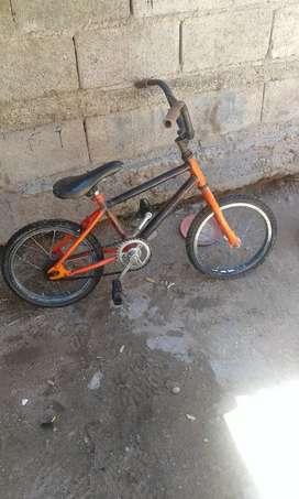 Vendo bici rodado 16 en $1500