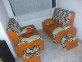 Se vende juego de mueble en L