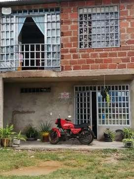 Vendo casa esquinera de dos pisos urbanos villa Nohora  corregimiento del caguan