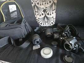 Se vende cámara nikon