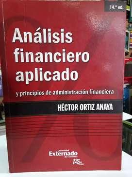 Análisis Financiero aplicado Héctor Ortiz Anaya catorceava edición externado de Colombia