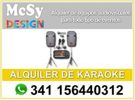 Alquiler de karaoke en Rosario